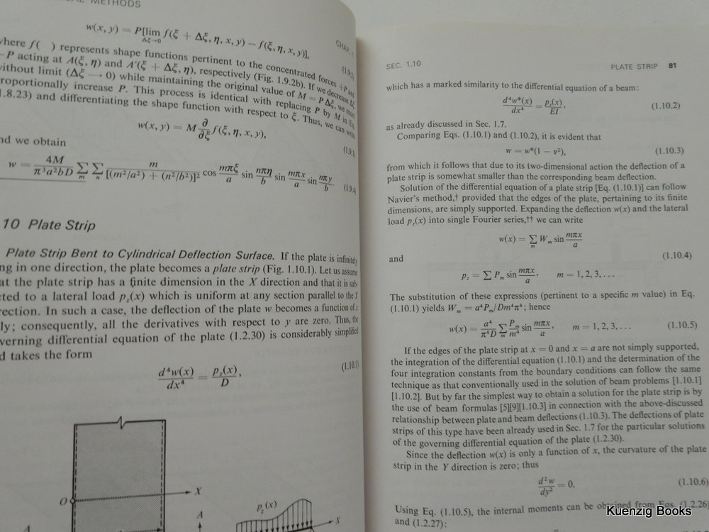 Theory and Analysis of Plates : Classical and Numerical
