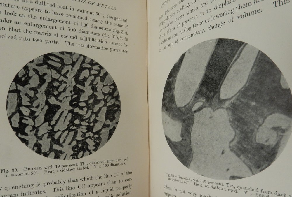 Microscopic Analysis of Metals ... with One Hundred photographic illustrations and two folding diagrams. Floris Osmond, J. E. Stead.