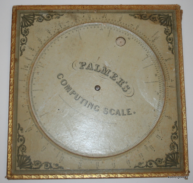 Palmer's Computing Scale [ Full Size ]. Aaron Palmer.