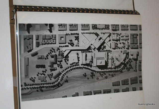 Architects Presentation Binder With Graphs And Photos Of Architectural Drawings Proposed Facilities For The Campus