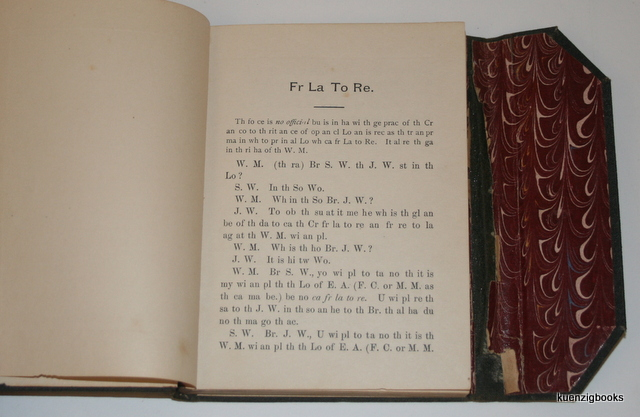 how to use a book cipher