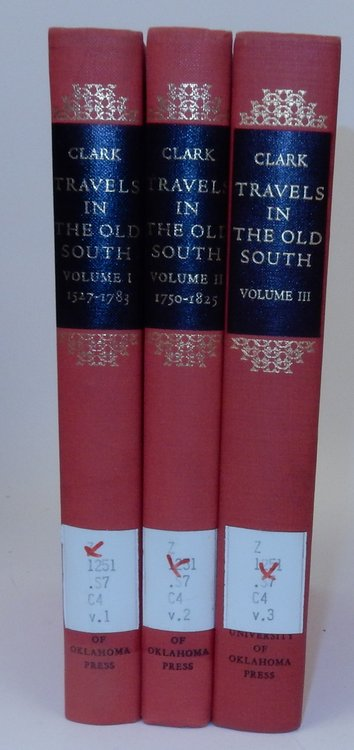 Travels in the Old South a Bibliography (3 Volumes ). Thomas D. Clark.