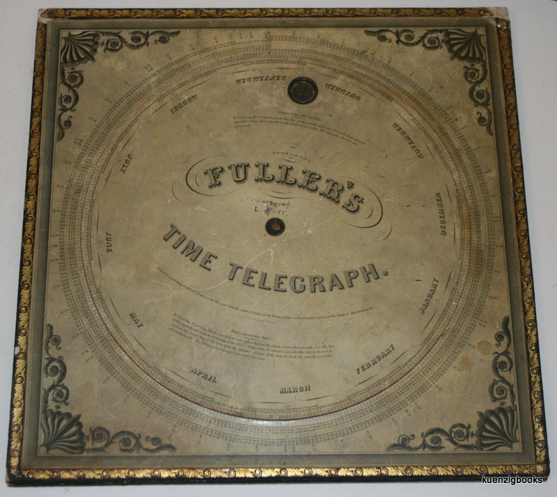 Fuller's Time Telegraph and Palmer's Computing Scale [ Full Size ]. John E. Fuller, Aaron Palmer.