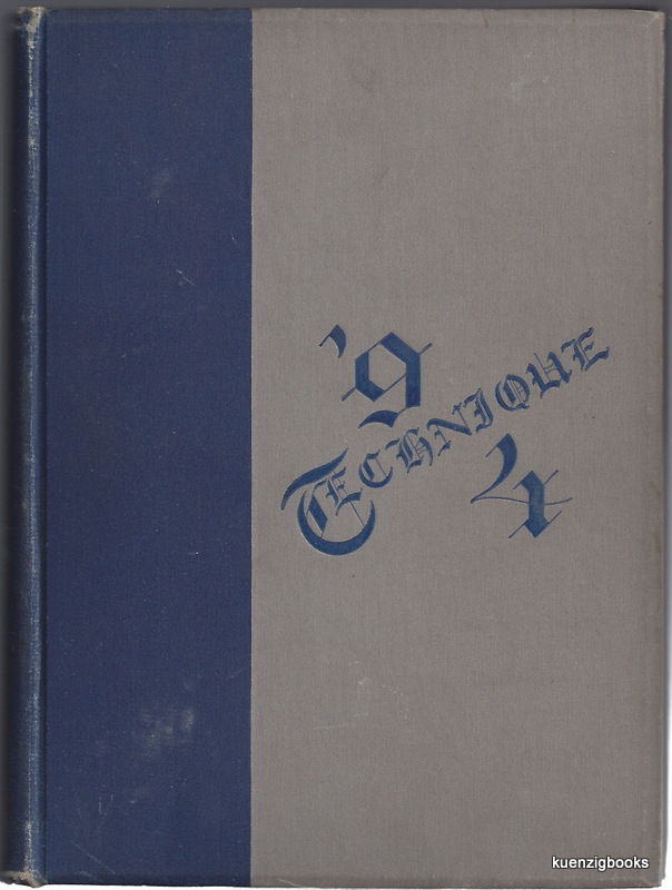 Technique Volume VIII [ MIT Class Yearbook for the Class of 1894 ]. Class of Ninety-four.