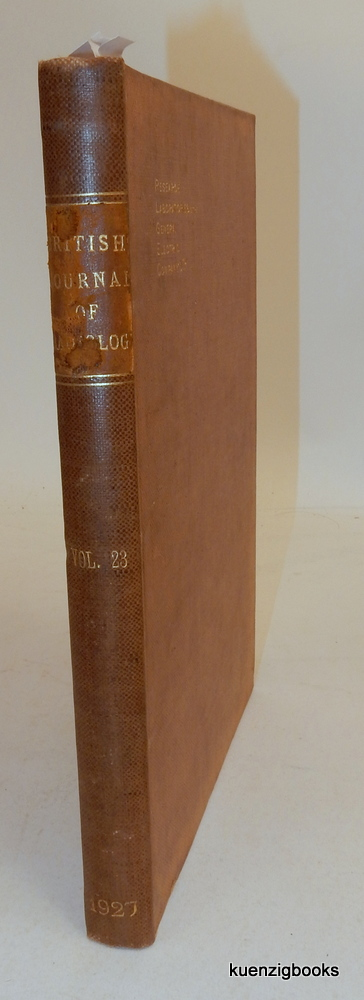 The British Journal of Radiology The Journal of the Roentgen Society Volume XXIII, 1927. Major G. W. C. Kaye.