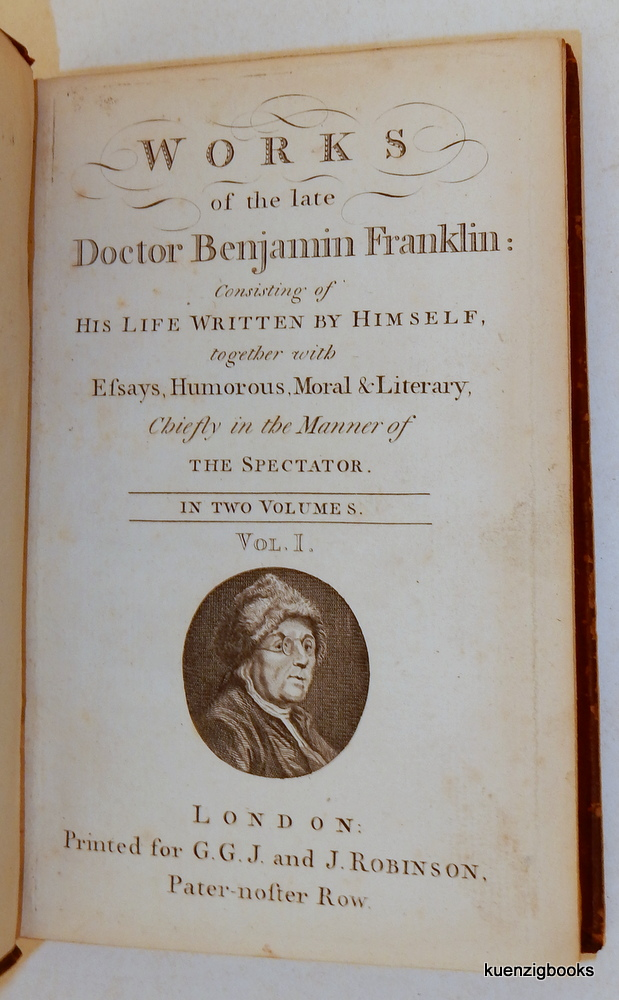 Essay on benjamin franklin