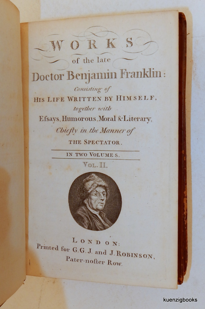 essays on ben franklin This free history essay on essay: benjamin franklin is perfect for history students to use as an example.
