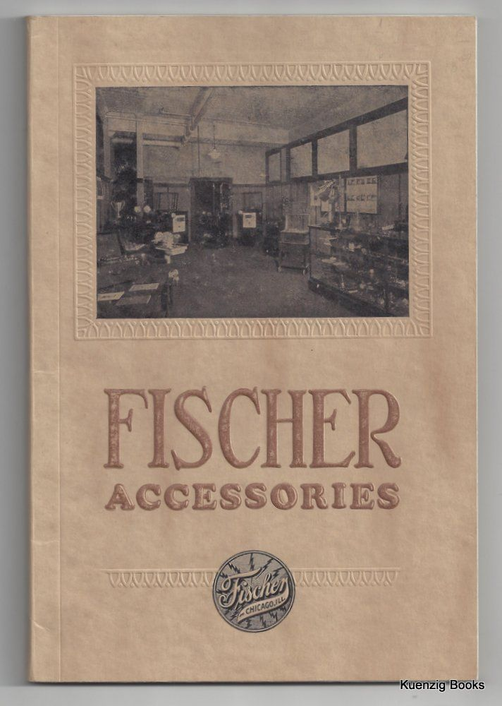 FISCHER Physiotherapeutic and X-Ray Supplies and Accessories ... Catalogue No. 15 June 1st, 1925. H. G. Fischer, Co. Inc.