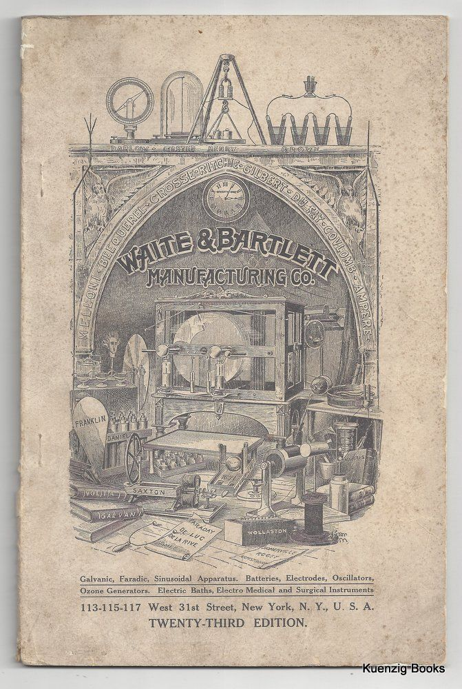 1910 Illustrated Catalogue.. and Price List Twenty-Third Annual edition. Waite, Bartlett Manufacturing Co.