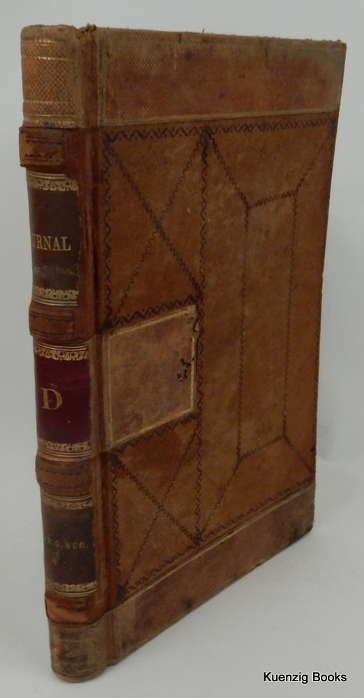 Journal 'D' of William D. Olmsted & Co. September 1, 1863 through June 29, 1864. William D. Olmsted.