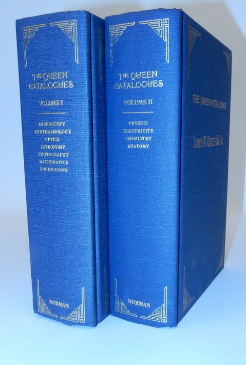 The Queen Catalogues Volumes I and II. James W. Queen & Co, Deborah Jean Warner, introduction.