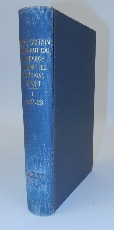 Aeronautics: Technical Report of the Aeronautical Research Committee for 1927-1928 : Vol. 1, Aerodynamics (Model and Full Scale). Aeronautical Research Committee.