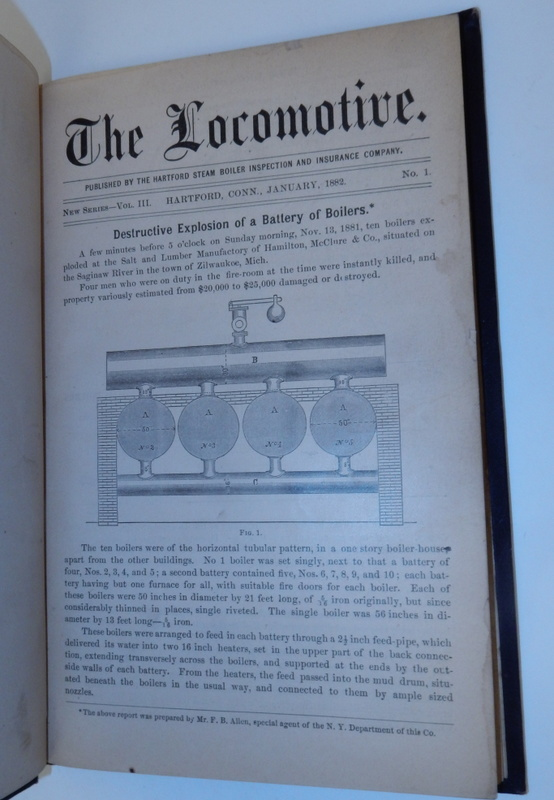 The Locomotive ... New Series. Vol III. Hartford Steam Boiler Inpsection, Insurance Co.