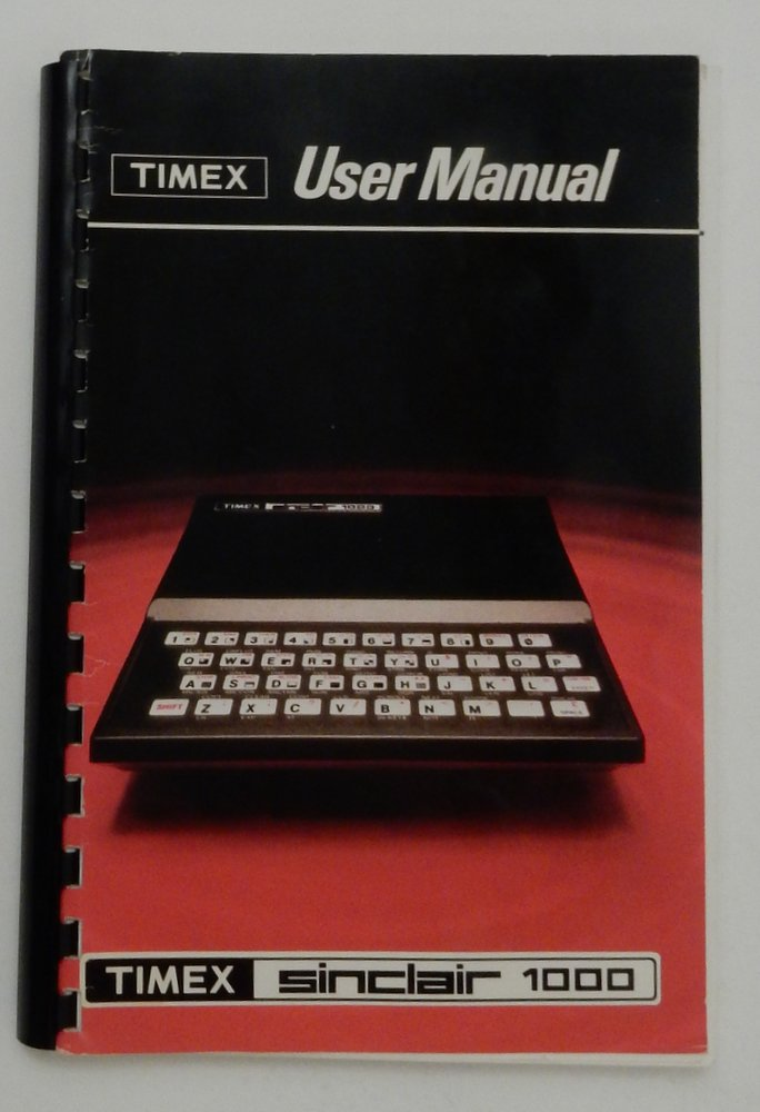 Timex User Manual: Timex Sinclair 1000. Steven Vickers, Charles F. Durang, revisions.