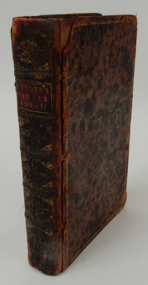 The Works of Virgil translated into English Verse by Mr. Dryden Volume the SECOND. Virgil, Dryden.