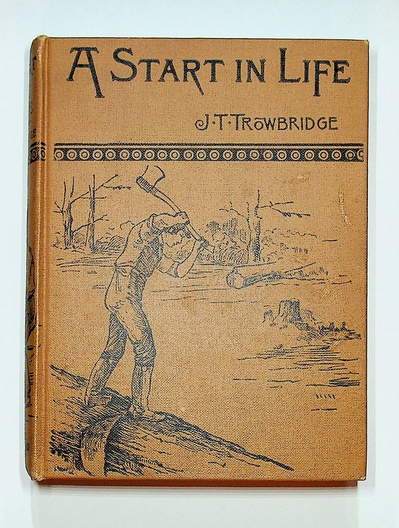 A Start in Life : A Story of the Genesee Country. J. T. Trowbridge.