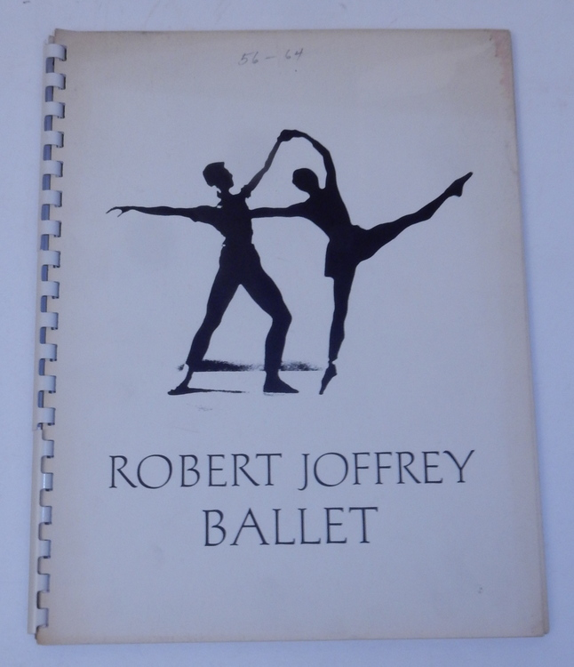 Robert Joffrey Ballet 1956-1964 [ Program for 1965 ]. Robert Joffrey Ballet.