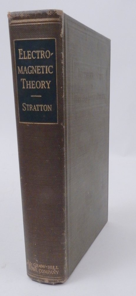 Electromagnetic Theory. Julius Adams Stratton.