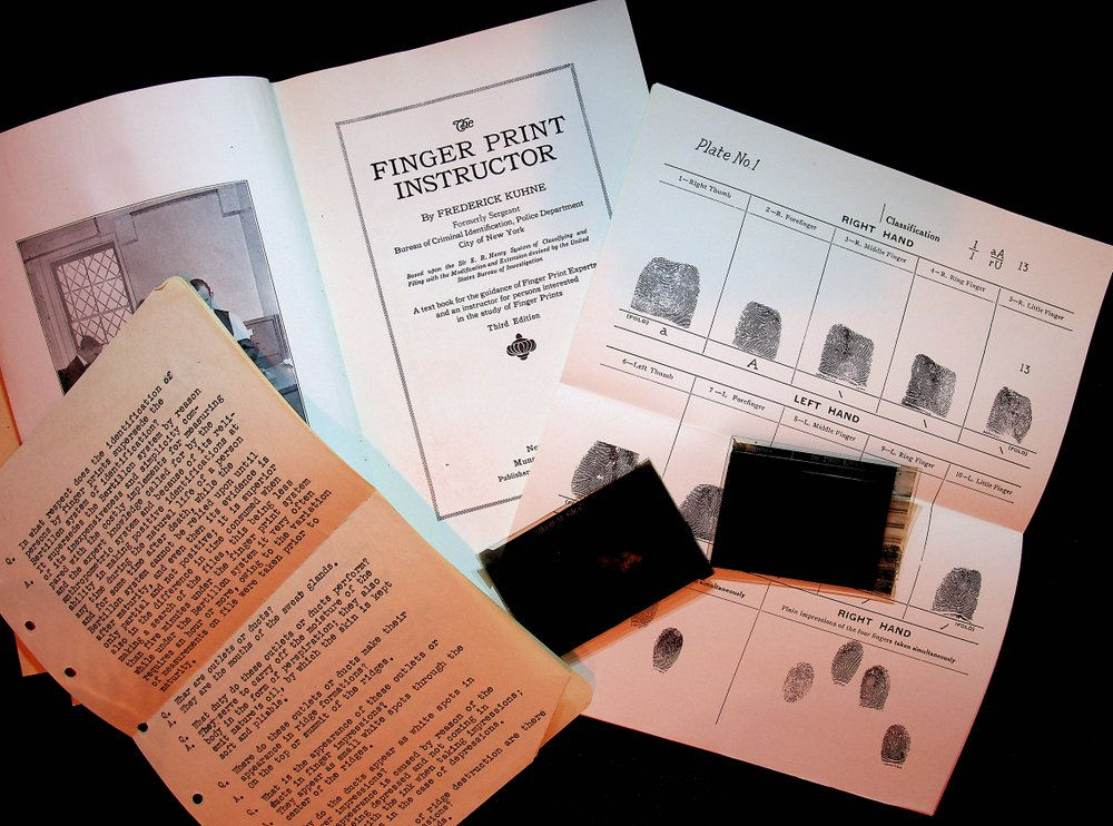 The Finger Print Instructor ... Third edition. Frederick Kuhne.