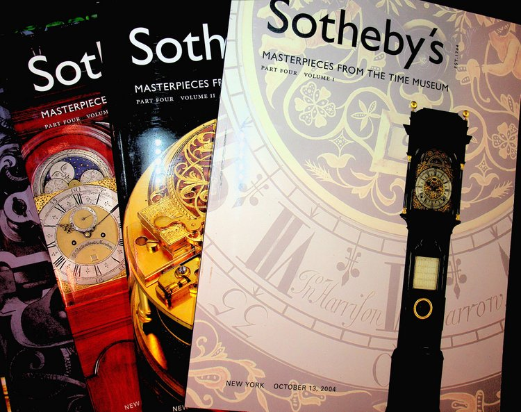 Masterpieces From the Time Museum, Part Four: Sotheby's auction sale N08039 held October 13-15, 2004 (Part four complete in three catalogues). Sotheby's.