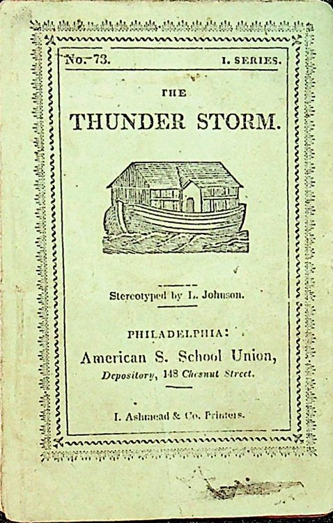 The Thunderstorm. Mary Martha Sherwood.