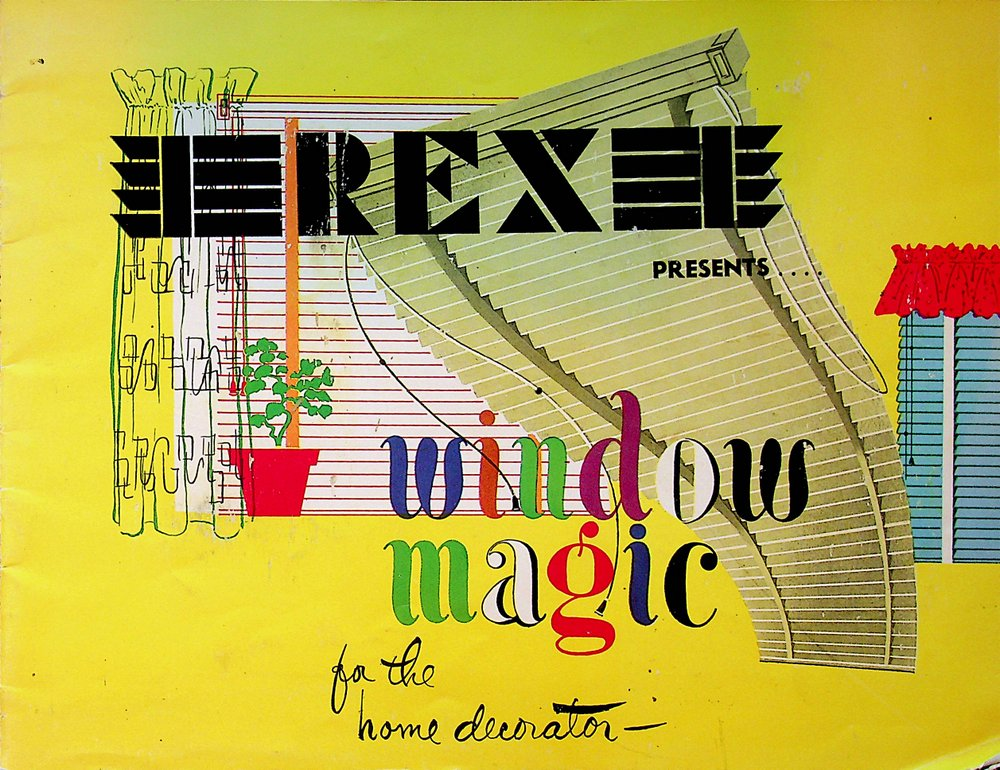 REX Presents.... Window Magic for the Home Decorator [ Cover title ]. Inc Levolor Lorentzen.