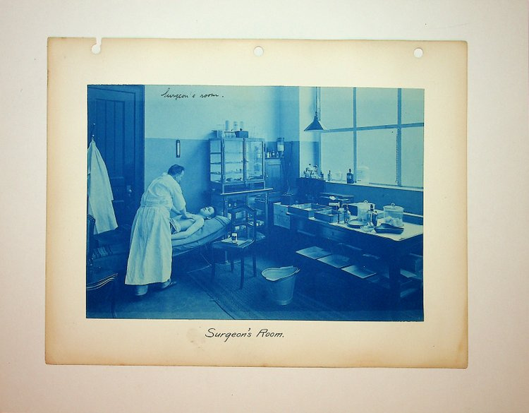 "[ Cyanotype ] ""Surgeon's Room"""