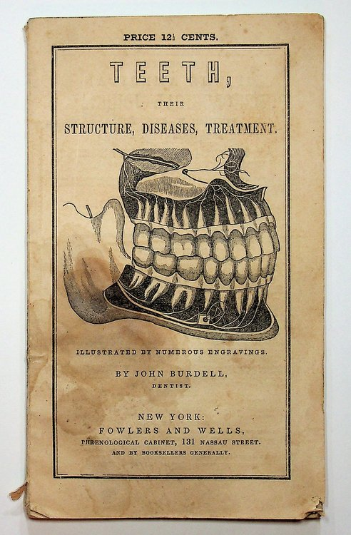 TEETH, Their Structure, Disease, Treatment ... illustrated by numerous engravings ...Twelfth Edition. John Burdell.