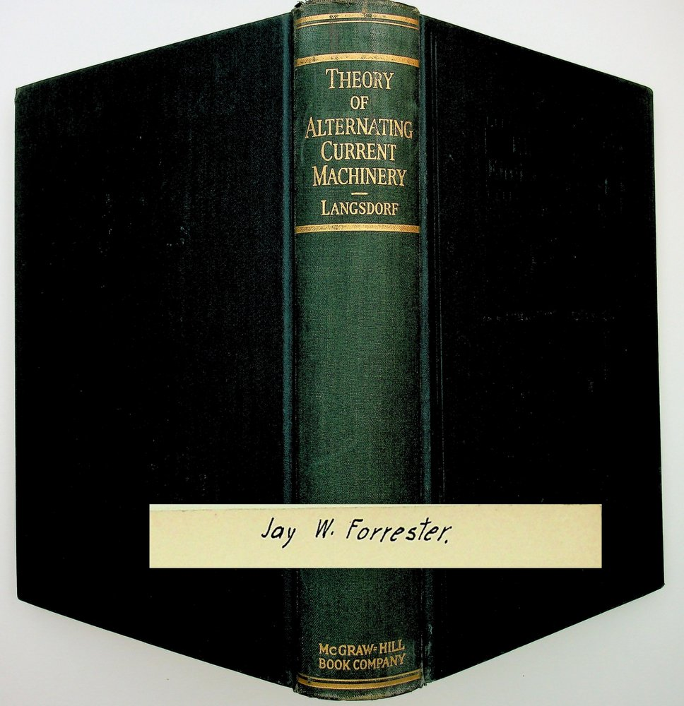 Theory of Alternating-Current Machinery. Alexander S. Langsdorf.