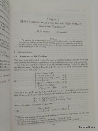 Identification and Control in Systems Governed by Partial Differential Equations (Proceedings in Applied Mathematics)