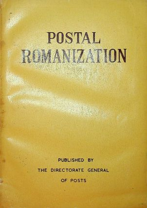 Postal Romanization. Republic of China