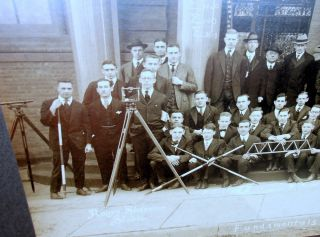 Photograph of the Yale School of Civil Engineering Class of 1916