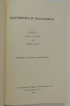 Electronics in Management