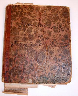 Manuscript Notebook of John and James Thomson. John and James Thomson