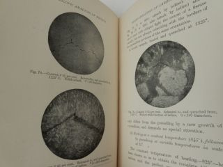 Microscopic Analysis of Metals ... with One Hundred photographic illustrations and two folding diagrams