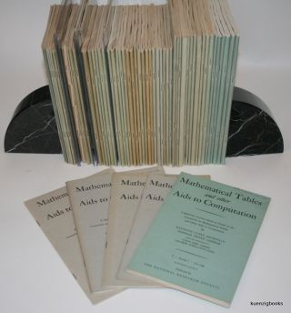 Mathematical Tables and Other Aids to Computation [ MTAC ]. EARLY COMPUTING, Raymond Clare...