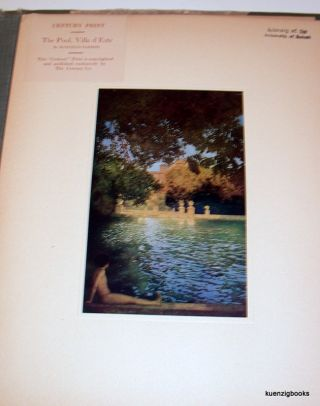 A Collection of Colour Prints by Jules Guerin [&] Maxfield Parrish. Twenty Plates.