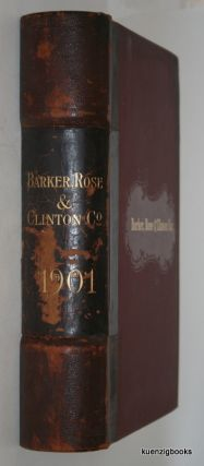 Illustrated Catalogue of Hardware for Sale by Barker, Rose, & Clinton Co, Wholesale Hardware, 109, 111, 113 Lake Street Elmira NY. Rose Barker, & Clinton Co.