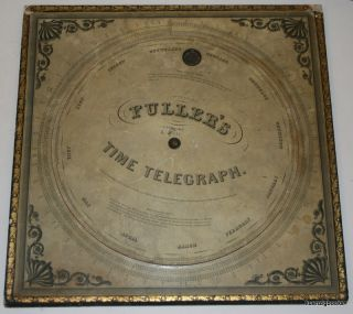 Fuller's Time Telegraph and Palmer's Computing Scale [ Full Size ]. John E. Fuller, Aaron Palmer