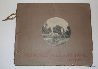 National Military Home Dayton. Keyes Souvenir Card Co