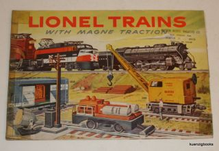 Lionel Trains with Magne Traction [ 1956 ]. Lionel Corporation