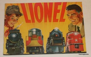 Lionel [ 1954 Trains and accessories trade catalog ]. Lionel Corporation