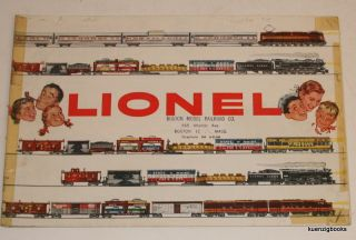 Lionel [ 1955 Trains and accessories trade catalog ]. Lionel Corporation