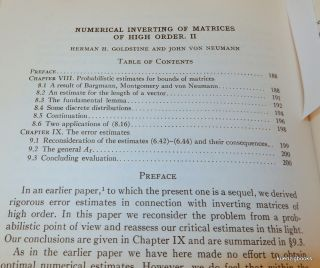 Numerical Inverting of Matrices of High Order II