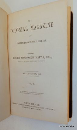 The Colonial Magazine and Commercial-Maritime Journal May-August 1841