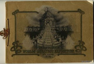 Memories of the Louisiana Purchase Exposition, St. Louis, MO. U.S.A. 1904. Chas Ashton, sales...