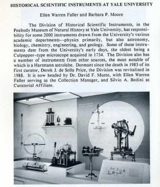 Rittenhouse Vol. 7 No. 4 (Issue 28): Journal of the American Scientific Instrument Enterprise August 1993