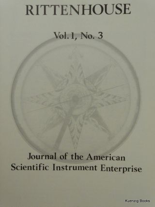Rittenhouse Vol. 1 No. 3 (Issue 3): Journal of the American Scientific Instrument Enterprise May 1987