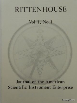 Rittenhouse Vol. 1 No. 1 (Issue 1): Journal of the American Scientific Instrument Enterprise Nov 1986