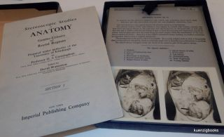 Stereoscopic Studies of Anatomy Genito-Urinary and Rectal Regions Section I ONLY ... Prepared under authority of the University of Edinburgh